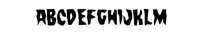 Count Suckula Condensed Font LOWERCASE