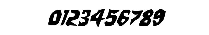 Count Suckula Italic Font OTHER CHARS
