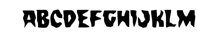 Count Suckula Font LOWERCASE