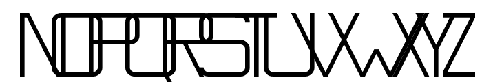 Countdowner Regular Font UPPERCASE