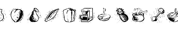 Counterscraps-Regular Font LOWERCASE