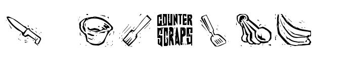 Counterscraps Font OTHER CHARS