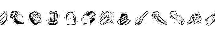 Counterscraps Font UPPERCASE