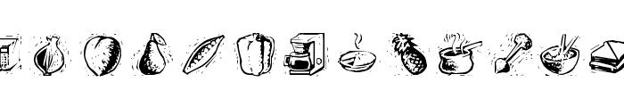Counterscraps Font LOWERCASE