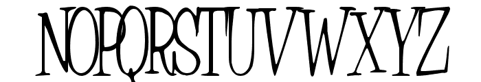 Countryside Normal Font UPPERCASE