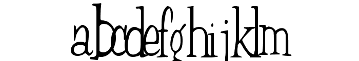 Countryside Normal Font LOWERCASE