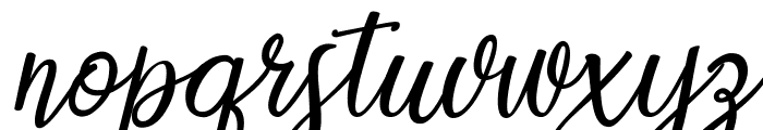 Countryside two Font LOWERCASE