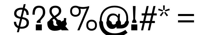 Coupeur Bricoleur DOWN Font OTHER CHARS