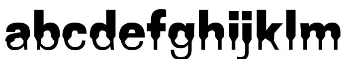 Coupeur Bricoleur UP Font LOWERCASE
