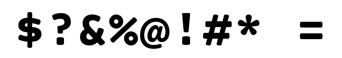 Courier Prime Sans Bold Font OTHER CHARS