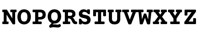 CourierPrime-Bold Font UPPERCASE