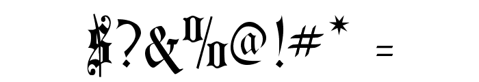 Courtrai Font OTHER CHARS