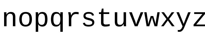 Cousine Font LOWERCASE