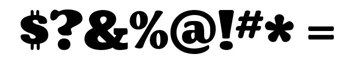 Coustard-Black Font OTHER CHARS