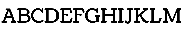 Coustard Font UPPERCASE
