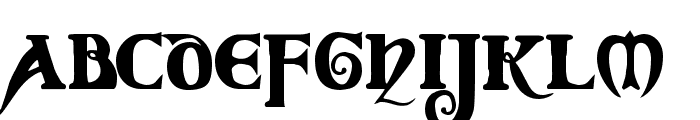 Coverack Demo Font LOWERCASE