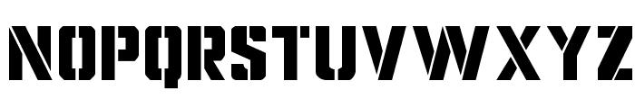 Covert Ops Regular Font UPPERCASE