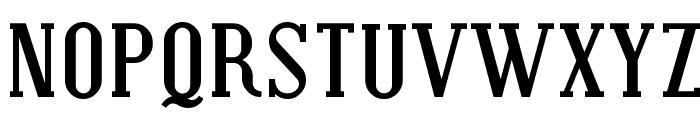 Covington Bold Font UPPERCASE