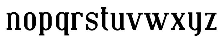 Covington Bold Font LOWERCASE