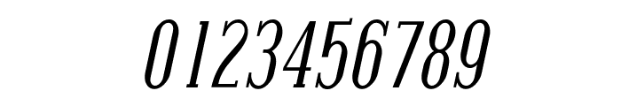 Covington Cond Italic Font OTHER CHARS