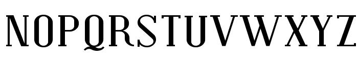 Covington Exp Font UPPERCASE
