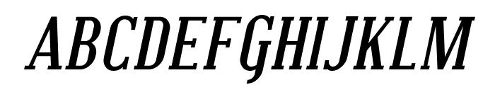Covington SC Bold Italic Font UPPERCASE