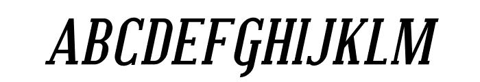 Covington SC Bold Italic Font LOWERCASE