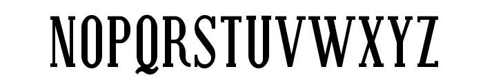 Covington SC Cond Bold Font UPPERCASE