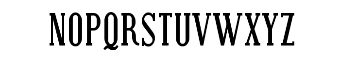Covington SC Cond Bold Font LOWERCASE