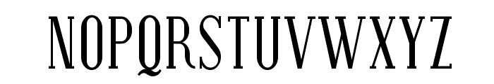 Covington SC Cond Font UPPERCASE