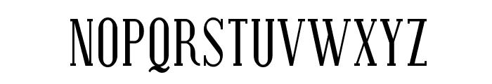 Covington SC Cond Font LOWERCASE