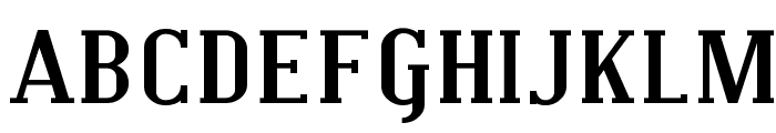 Covington SC Exp Bold Font UPPERCASE