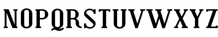 Covington SC Exp Bold Font LOWERCASE