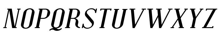 Covington SC Exp Italic Font UPPERCASE