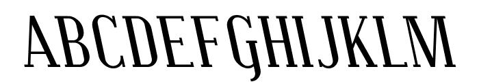 Covington SC Rev Italic Font UPPERCASE