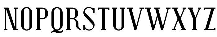 Covington SC Font UPPERCASE
