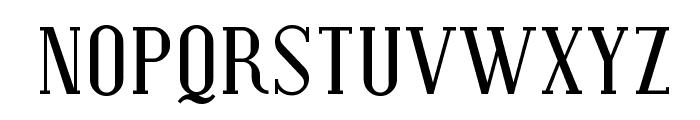 Covington SC Font LOWERCASE