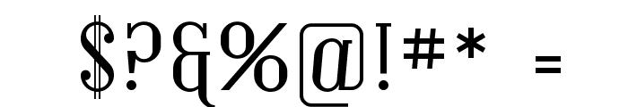 Covington Font OTHER CHARS