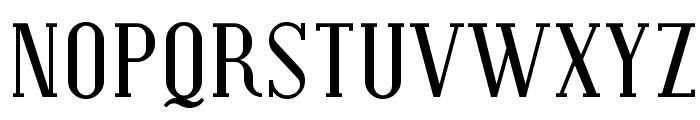 Covington Font UPPERCASE