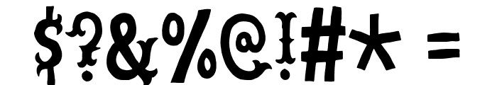 CowboyJunkDEMO Font OTHER CHARS