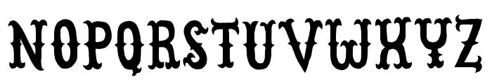 CowboyJunkDEMO Font LOWERCASE