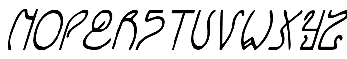 Coyote Deco CondItal Font LOWERCASE