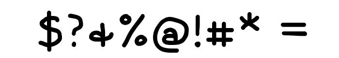 Coyotris Comic Font OTHER CHARS