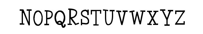 Coyotris Serif Font LOWERCASE