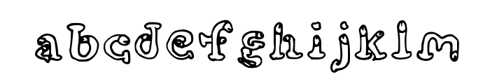 cockfont Font LOWERCASE