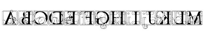 codex Font UPPERCASE