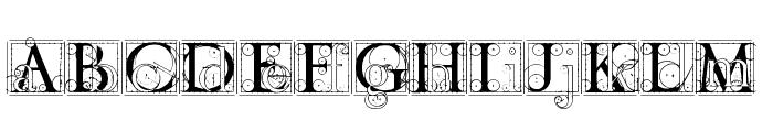 codex Font LOWERCASE