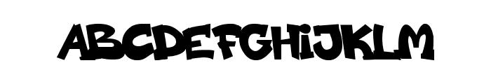 codygraff Font UPPERCASE