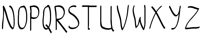 coloroyd bastard Light Font UPPERCASE
