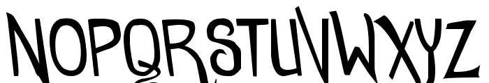 comicdouche Font UPPERCASE
